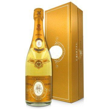 CHAMPAGNE LOUIS ROEDERER - CRISTAL 2006 - GIFT BOX (France - Champagne - Champagne AOC - White Champagne - 0,75 L)