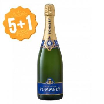 CHAMPAGNE POMMERY - BRUT ROYAL (France - Champagne - Champagne AOC - White Champagne - 0,75 L)