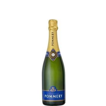 DEMI-BOUTEILLE - CHAMPAGNE POMMERY BRUT ROYAL (France - Champagne - Champagne AOC - White Champagne - 0,375 L)