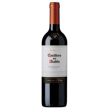 CARMENERE 2013 - CASILLERO DEL DIABLO - CONCHA Y TORO (Chile - Wine Valley Central - Red Wine - 0,75 L)