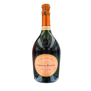 CHAMPAGNE LAURENT PERRIER - CUVEE ROSE (France - Champagne - Champagne AOC - Rosé Champagne - 0,75 L)