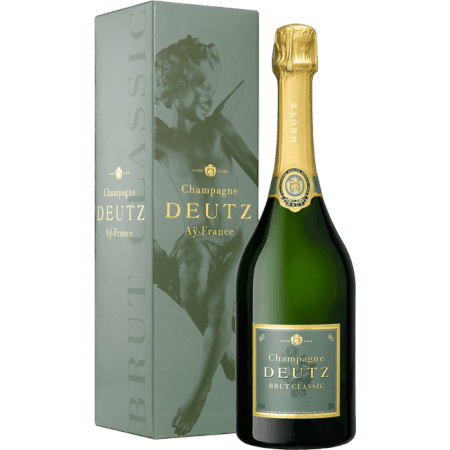 CHAMPAGNE DEUTZ BRUT CLASSIC 75CL IN GIFT PACK