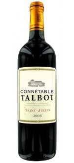 CONNETABLE DE TALBOT 2010 - SECOND VIN DU CHATEAU TALBOT (France - Wine Bordeaux - Saint-Julien AOC - Wine Red - 0,75 L)