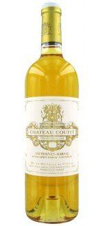 CHATEAU COUTET 2010 - 1ER CRU CLASSE (France - Wine Bordeaux - Barsac AOC - White Wine - 0,75 L)