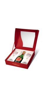 CHAMPAGNE TSARINE GIFT SET SOIE (France - Champagne - Champagne AOC - White Champagne - 0,75 L)