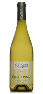 CHARDONNAY 2014 - DOMAINE DU TARIQUET (France - Wine South West France - Côtes de Gascogne IGP - White Wine - 0,75 L)