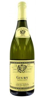 GIVRY BLANC 2013 - LOUIS JADOT (France - Wine Burgundy - Givry AOC - White Wine - 0,75 L)