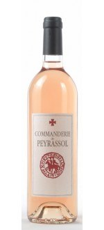 ROSE 2014 - LA COMMANDERIE DE PEYRASSOL (France - Wine Provence - Côtes de Provence AOC - Rosé Wine - 0,75 L)