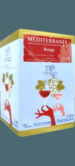 WINE BOX ROUGE PROVENCE - LA SUZIENNE