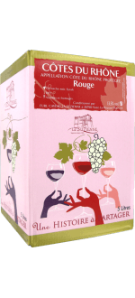 BOXED WINE - BIB - COTES DU RHONE - LA SUZIENNE