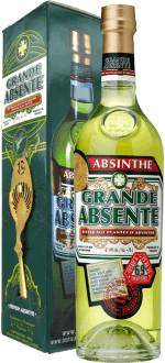GRANDE ABSENTE 69° WITH SPOON IN GIFT PACK