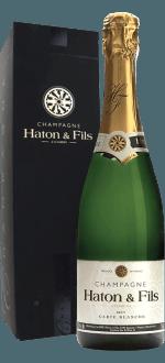 CHAMPAGNE HATON & FILLES - CARTE BLANCHE - ETUI