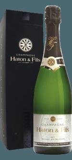 CHAMPAGNE HATON & FILS - BLANC DE BLANCS - ETUI