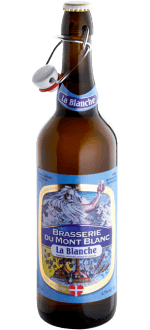 BLANCHE DU MONT-BLANC 75CL - BREWERY DU MONT-BLANC - WHEAT BEER