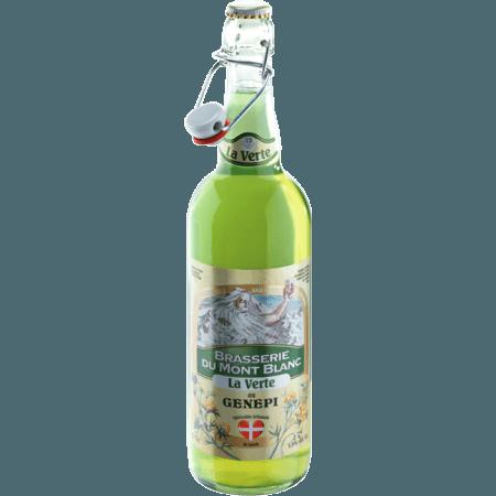 Buy online verte du mont blanc brasserie du mont blanc for Cocktail genepi