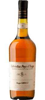 CALVADOS 8 YEARS OLD D'AGE - ROGER GROULT - IN GIFT BOX
