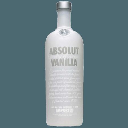 ABSOLUT VANILIA - VODKA VANILLA FLAVOURED - ABSOLUT VODKA