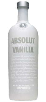 ABSOLUT VANILIA - VODKA VANILLA FLAVOURED - ABSOLUT VODKA