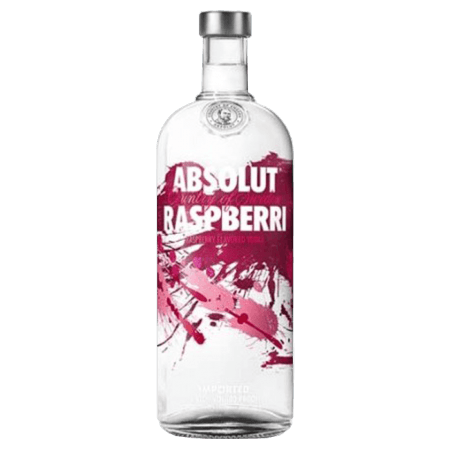 ABSOLUT RASPBERRI - VODKA RASPBERRY-FLAVOURED - ABSOLUT VODKA