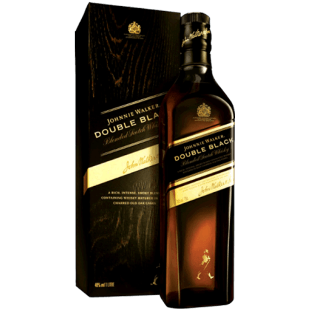 JOHNNIE WALKER DOUBLE BLACK - EN ÉTUI