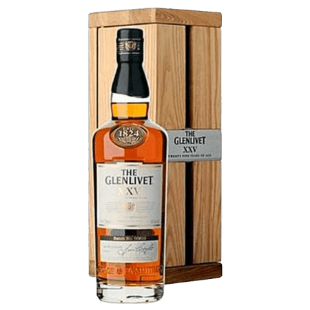 THE GLENLIVET 25 YEARS OLD - EN GIFT SET