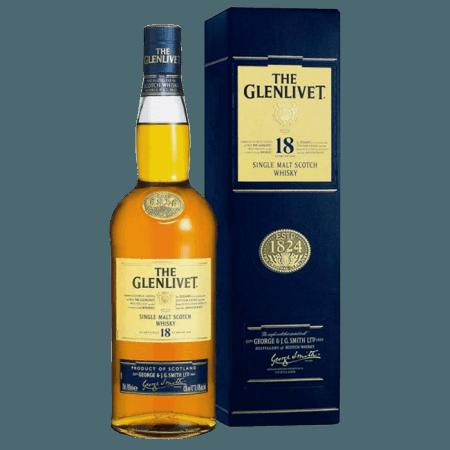 THE GLENLIVET 18 YEAR OLD - EN ETUI