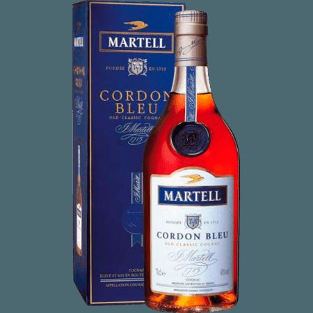 COGNAC MARTELL - CORDON BLEU - IN GIFT PACK