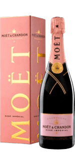 CHAMPAGNE MOET ET CHANDON BRUT ROSE IN GIFT BOX