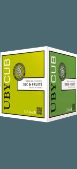 BOXED WINE - BIB - COLOMBARD UBY BLANC SEC - DOMAINE UBY