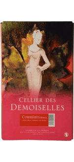 BOXED WINE - BIB - CELLIER DES DEMOISELLES 5L RED