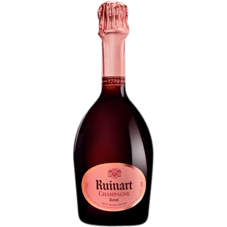 HALF BOTTLE - CHAMPAGNE RUINART BRUT ROSE