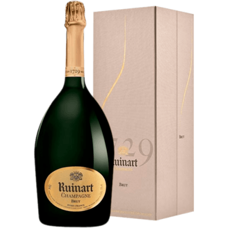 CHAMPAGNE RUINART BRUT IN LUXURY BOX