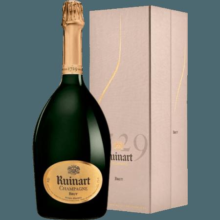 CHAMPAGNE RUINART - MAGNUM BRUT - EN LUXURY BOX