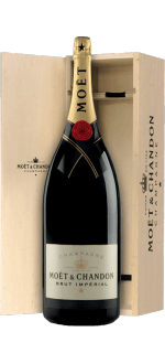 CHAMPAGNE MOET ET CHANDON BRUT IMPERIAL SALMANAZAR 9L IN WOODEN CASE