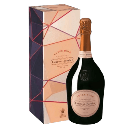CHAMPAGNE LAURENT PERRIER - BRUT ROSE IN LUXURY BOX