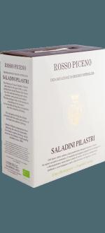 BOXED WINE - BIB - 3L - SALADINI PILASTRI - ROSSO PICENO 2015
