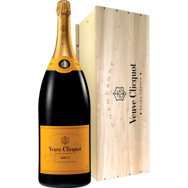 Veuve Clicquot Yellow Label Salmanazar At The Best Price