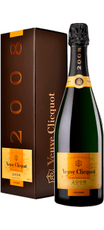 CHAMPAGNE VEUVE CLICQUOT VINTAGE IN GIFT BOX 2008