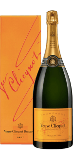 MAGNUM - CHAMPAGNE VEUVE CLICQUOT YELLOW LABEL BRUT IN GIFT PACK