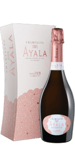 CHAMPAGNE AYALA - BRUT ROSE N°8 - IN GIFT PACK