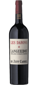 LES DARONS 2015 - BY JEFF CARREL - LANGUEDOC (GRENACHE, CARIGNAN & SHIRAZ)