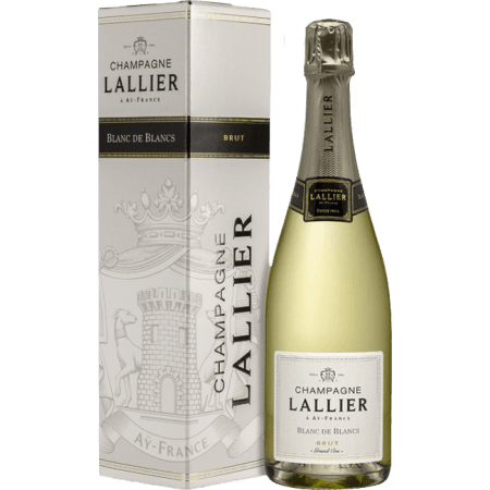 CHAMPAGNE LALLIER - BLANC DE BLANCS GRAND CRU - IN GIFT PACK