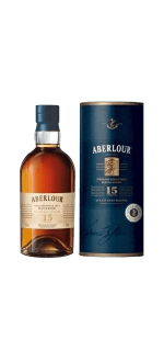 ABERLOUR 15 YEAR OLD WHISKY - EN ETUI