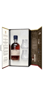 ABERLOUR 15 YEAR OLD WHISKY + 2 GLASSES GIFT SET