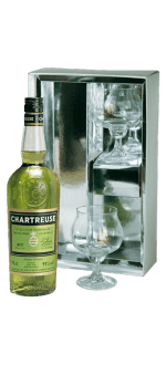 GIFT SET CHARTREUSE VERTE + 2 GLASSES