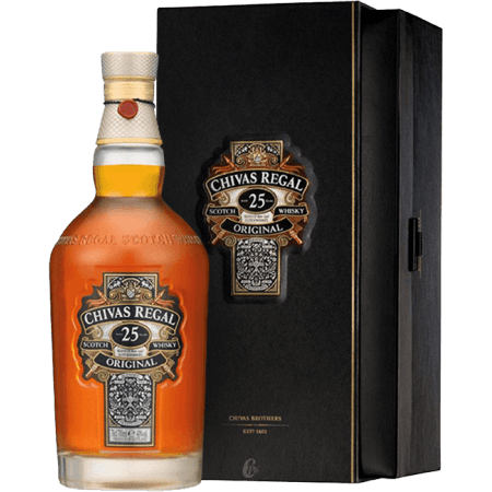 58432893c29 Whisky CHIVAS REGAL 25 YEARS OLD GIFT SETbuy online at the best price!