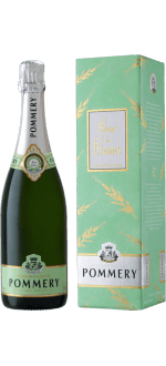CHAMPAGNE POMMERY - SUMMERTIME BLANC DE BLANCS - IN GIFT PACK