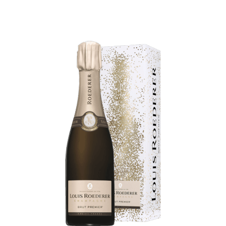 CHAMPAGNE LOUIS ROEDERER - BRUT PREMIER - HALF BOTTLE - IN GIFT PACK