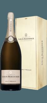 CHAMPAGNE LOUIS ROEDERER - BRUT PREMIER - JEROBOAM - IN GIFT PACK