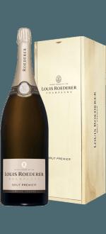 CHAMPAGNE LOUIS ROEDERER - BRUT PREMIER - METHUSELAH - WOODEN CASE